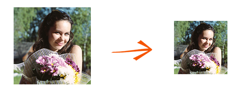 Resize images with reaConverter