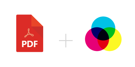 How to convert PDF in CMYK