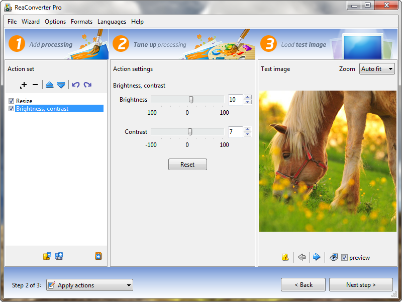 ReaConverter Pro edition Screenshot
